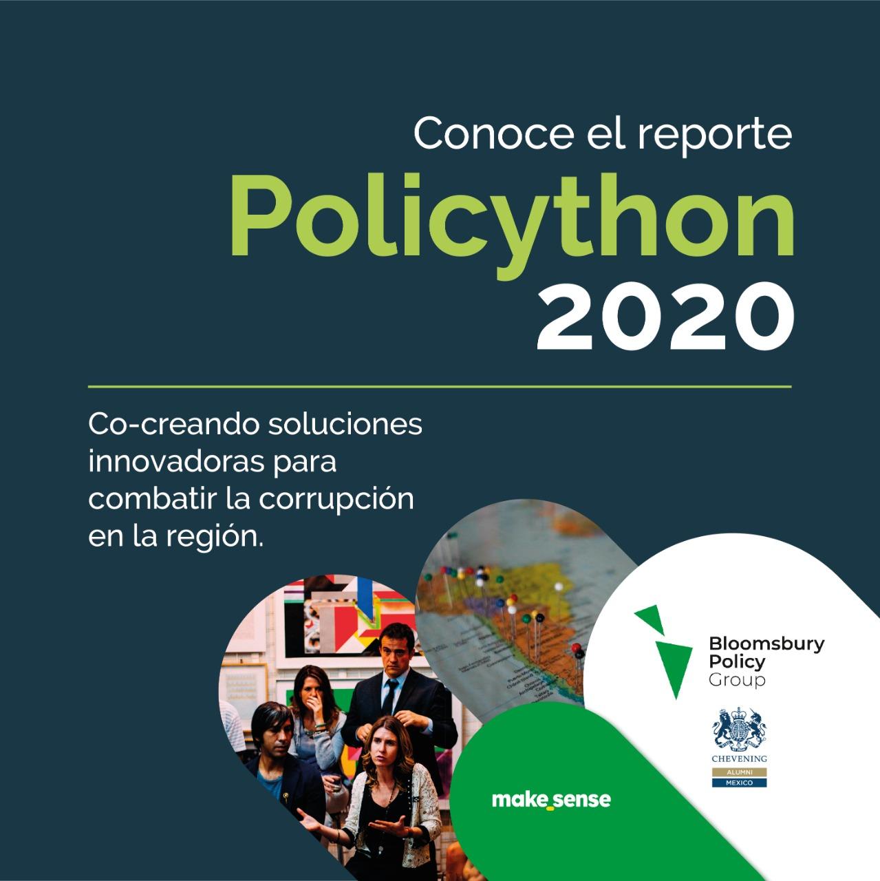 Policython 2020 – Co-creando soluciones innovadoras para combatir la corrupción en la región.